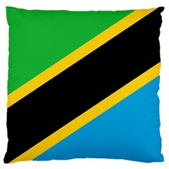 Flag Of Tanzania Large Cushion Case (two Sides)