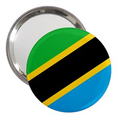 Flag Of Tanzania 3  Handbag Mirrors