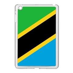 Flag Of Tanzania Apple Ipad Mini Case (white)