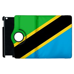 Flag Of Tanzania Apple Ipad 2 Flip 360 Case