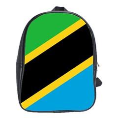 Flag Of Tanzania School Bags (xl)