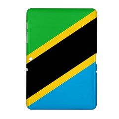Flag Of Tanzania Samsung Galaxy Tab 2 (10 1 ) P5100 Hardshell Case