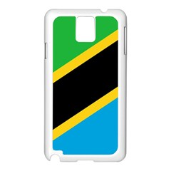Flag Of Tanzania Samsung Galaxy Note 3 N9005 Case (white)