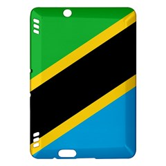 Flag Of Tanzania Kindle Fire Hdx Hardshell Case