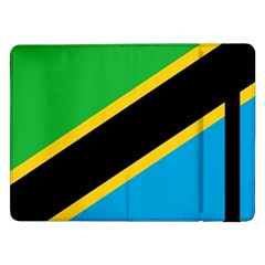 Flag Of Tanzania Samsung Galaxy Tab Pro 12 2  Flip Case