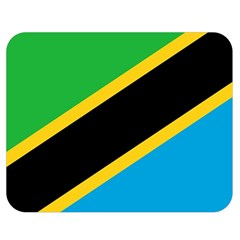 Flag Of Tanzania Double Sided Flano Blanket (medium)