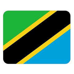 Flag Of Tanzania Double Sided Flano Blanket (large)