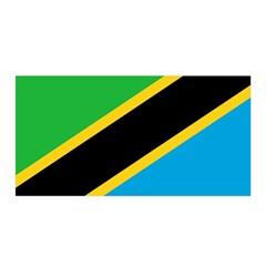 Flag Of Tanzania Satin Wrap