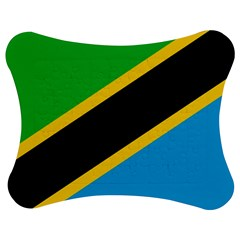 Flag Of Tanzania Jigsaw Puzzle Photo Stand (Bow)