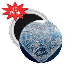 Frozen Heart 2.25  Magnets (10 pack)