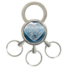 Frozen Heart 3 Ring Key Chains