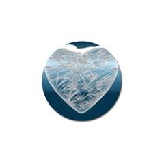 Frozen Heart Golf Ball Marker (4 Pack)