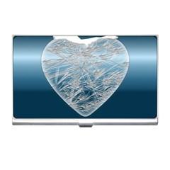 Frozen Heart Business Card Holders