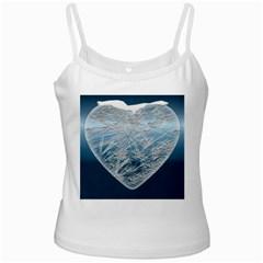 Frozen Heart Ladies Camisoles