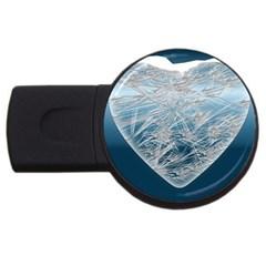 Frozen Heart Usb Flash Drive Round (4 Gb)