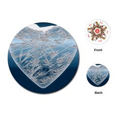 Frozen Heart Playing Cards (round)