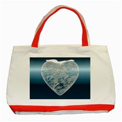 Frozen Heart Classic Tote Bag (red)