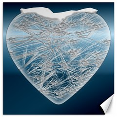 Frozen Heart Canvas 20  X 20