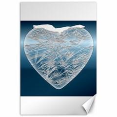 Frozen Heart Canvas 20  X 30