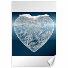 Frozen Heart Canvas 24  X 36