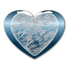 Frozen Heart Heart Mousepads