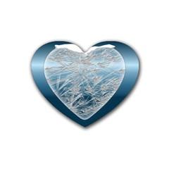 Frozen Heart Heart Coaster (4 Pack)