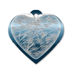 Frozen Heart Dog Tag Heart (two Sides)