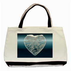 Frozen Heart Basic Tote Bag (two Sides)