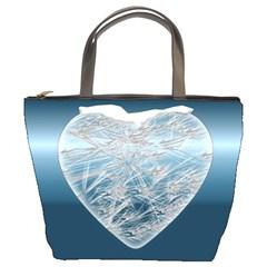 Frozen Heart Bucket Bags