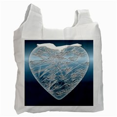 Frozen Heart Recycle Bag (Two Side)