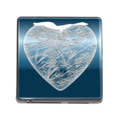 Frozen Heart Memory Card Reader (square)