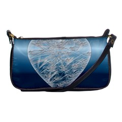 Frozen Heart Shoulder Clutch Bags