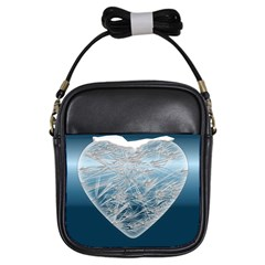 Frozen Heart Girls Sling Bags