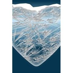 Frozen Heart 5 5  X 8 5  Notebooks