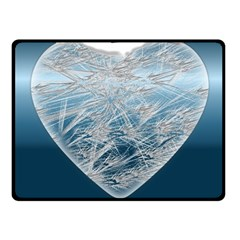 Frozen Heart Fleece Blanket (small)