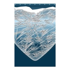 Frozen Heart Shower Curtain 48  x 72  (Small)