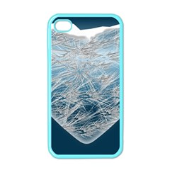Frozen Heart Apple Iphone 4 Case (color)