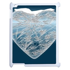Frozen Heart Apple Ipad 2 Case (white)