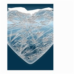 Frozen Heart Small Garden Flag (two Sides)