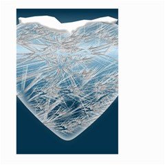 Frozen Heart Large Garden Flag (two Sides)