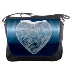 Frozen Heart Messenger Bags