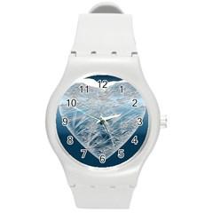Frozen Heart Round Plastic Sport Watch (m)
