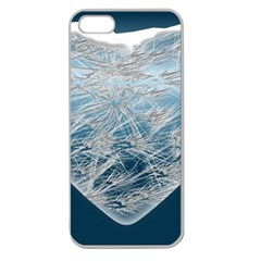 Frozen Heart Apple Seamless Iphone 5 Case (clear)