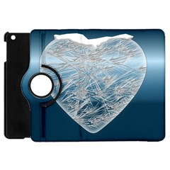 Frozen Heart Apple Ipad Mini Flip 360 Case