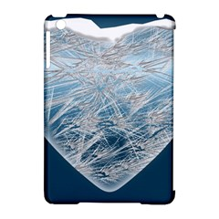 Frozen Heart Apple Ipad Mini Hardshell Case (compatible With Smart Cover)