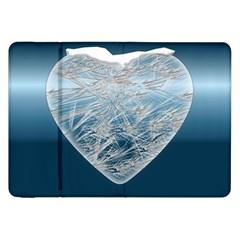 Frozen Heart Samsung Galaxy Tab 8 9  P7300 Flip Case