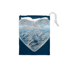 Frozen Heart Drawstring Pouches (small)