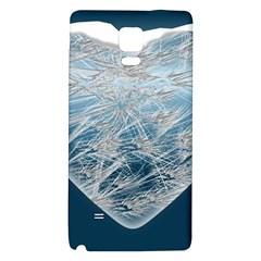 Frozen Heart Galaxy Note 4 Back Case