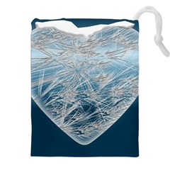 Frozen Heart Drawstring Pouches (xxl)