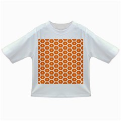 Golden Be Hive Pattern Infant/toddler T Shirts